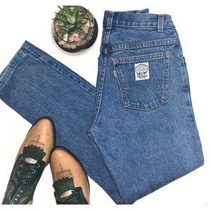 Levi's Vintage 544 Denim Jeans White Tab